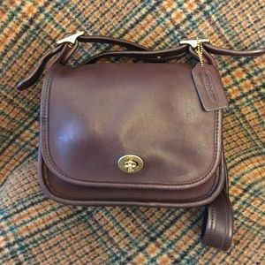 Coach Vintage Mocha Trail Bag